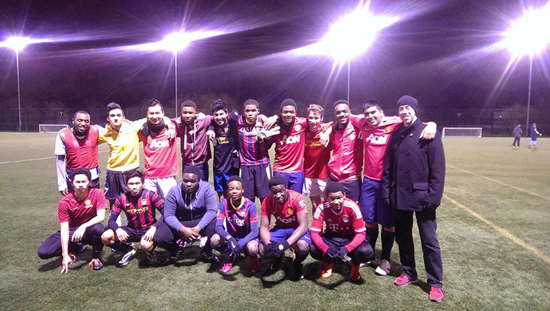 Abbey College Manchester Football Team