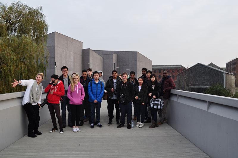 Abbey College Manchester Art Students visit Yorkshire Sculpture Park