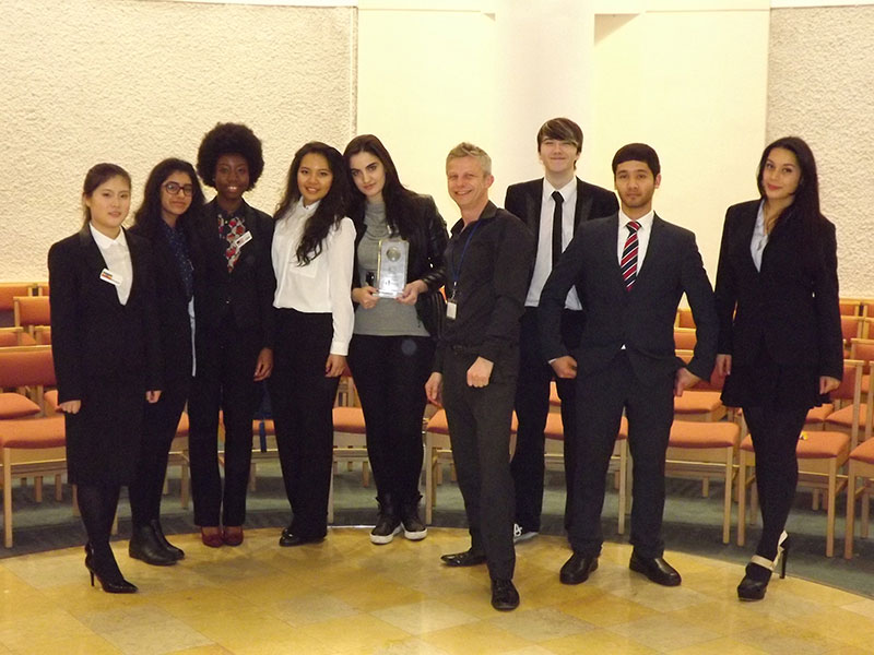 Abbey College Manchester Student Debate Team
