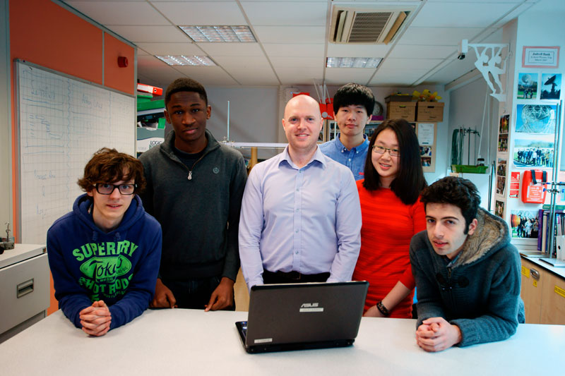Abbey College Manchester A-Level students Engineer Success