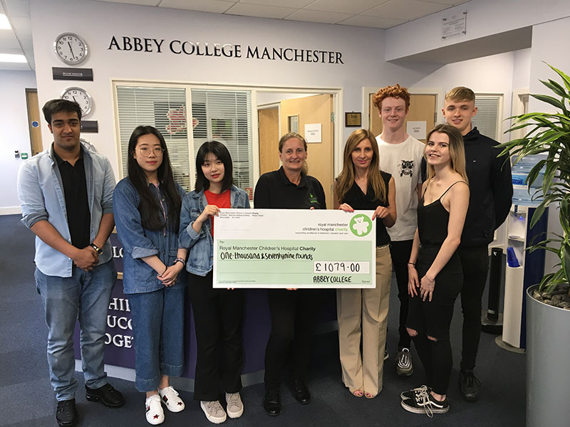 Abbey College Manchester Business and Economics Students