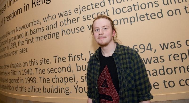 Abbey College Manchester Charity Concert Drummer Alex