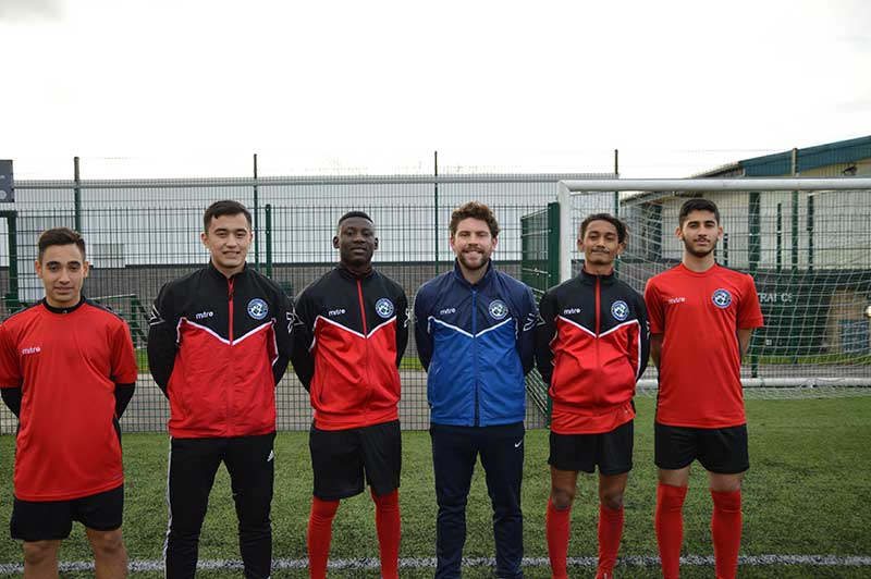 Abbey College Manchester Football Training with Academic Studies