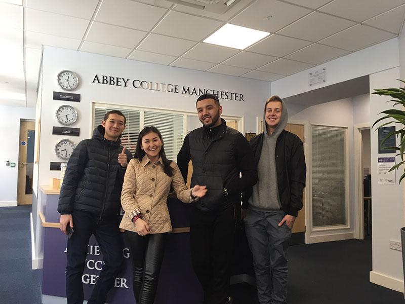 Abbey College Manchester Principal Visits Kazakhstan