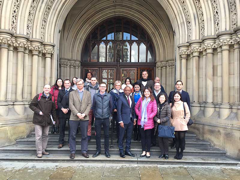 Abbey College Manchester Rising Stars Agents Visit