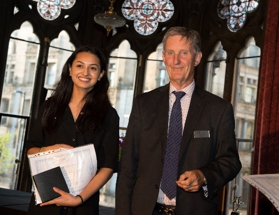 Abbey College manchester Student Wins Progress Award