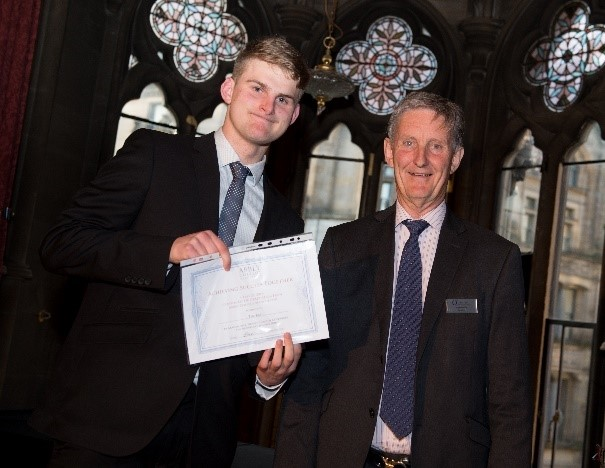Abbey College Manchester Student Wins Resilience Award