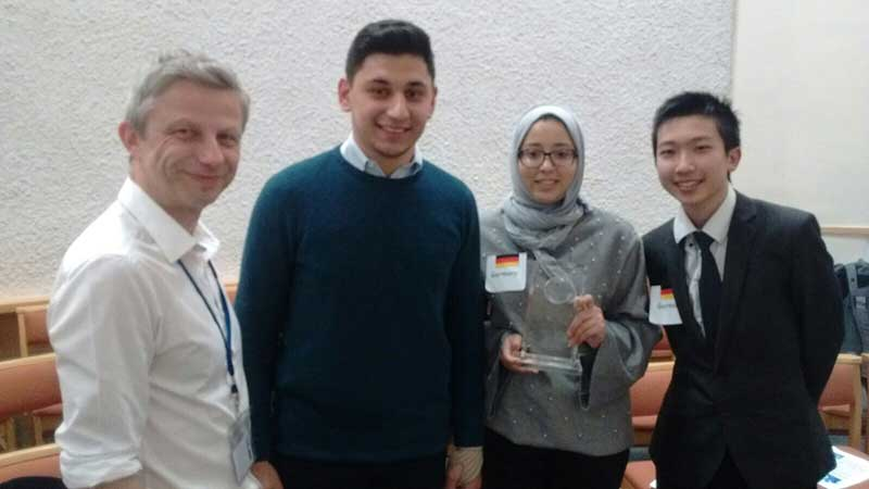 Abbey College Manchester Students Debate Sustainable Energy