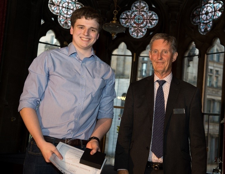 Abbey College manchester Student Wins Prestigious Award