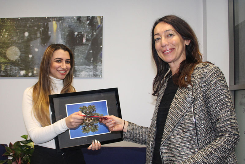 Abbey College Manchester Student Wins First Prize