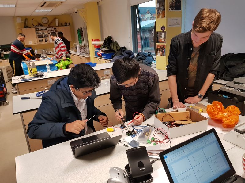 Abbey College Manchester Engineering Enrichment