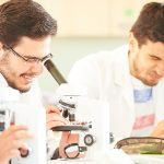 Biology class at Abbey College Manchester
