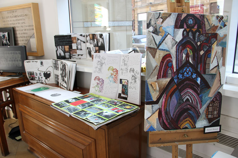 Annual Abbey College Manchester A Level Art Exhibition