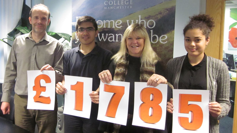 Abbey College Manchester Charity Fundraising Success