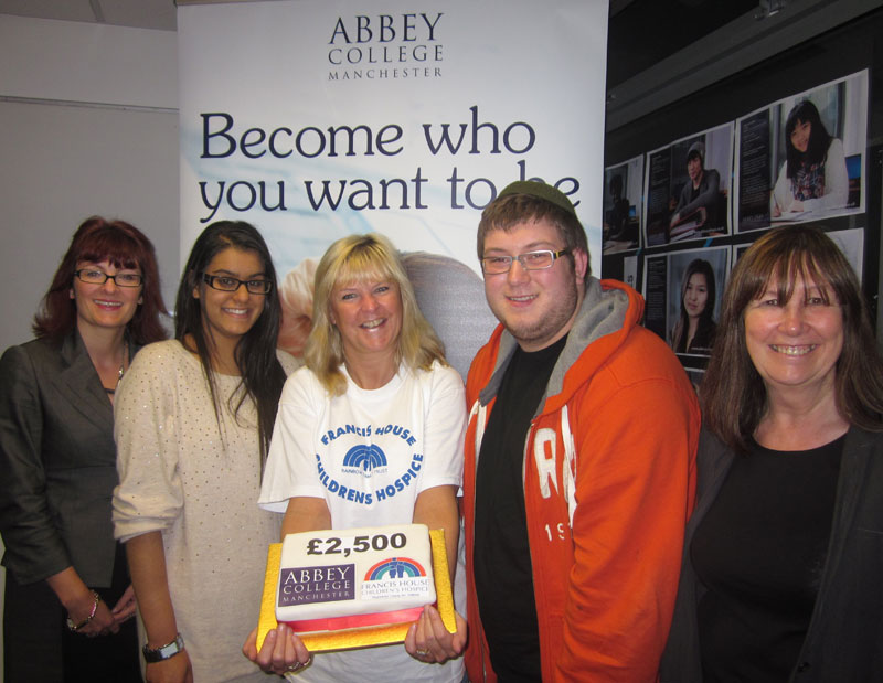 Abbey College Manchester Fundraising Success