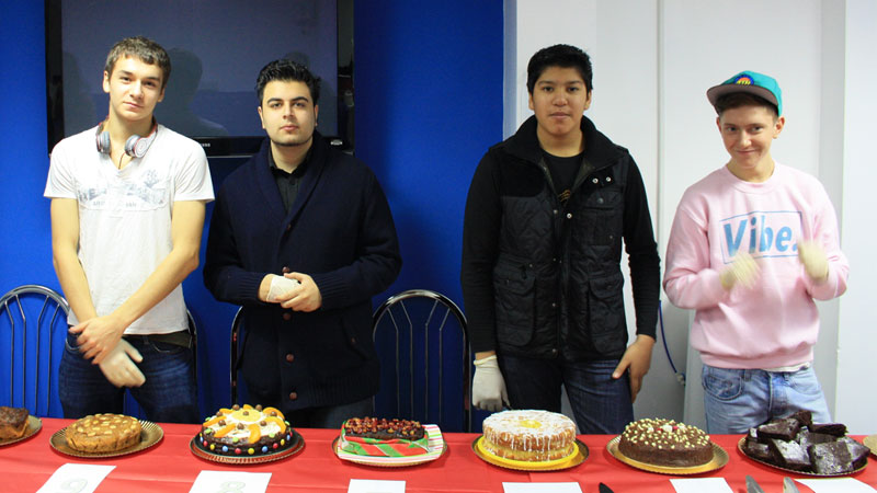 Abbey College Manchester BTEC Students Bake Off