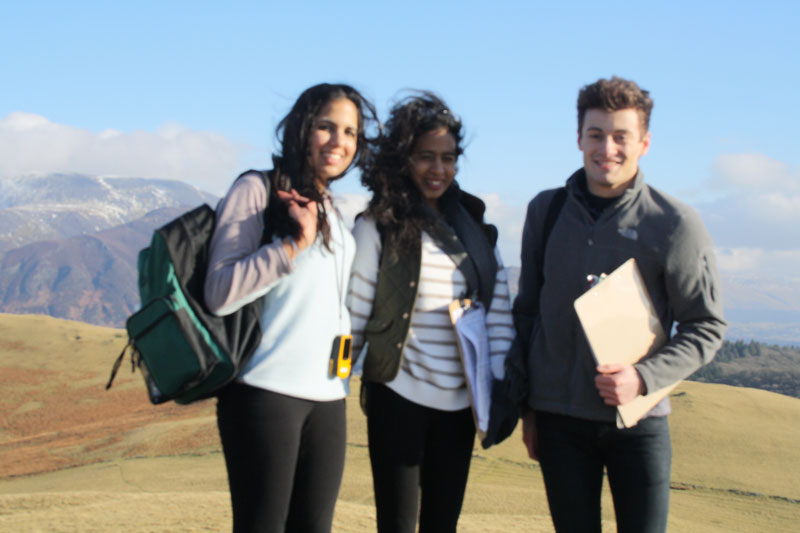 Abbey College Manchester A Level Geography Field Trip