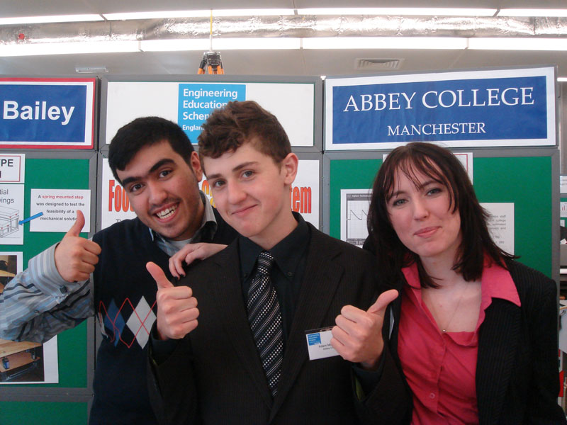 Abbey College Manchester Engineering Students