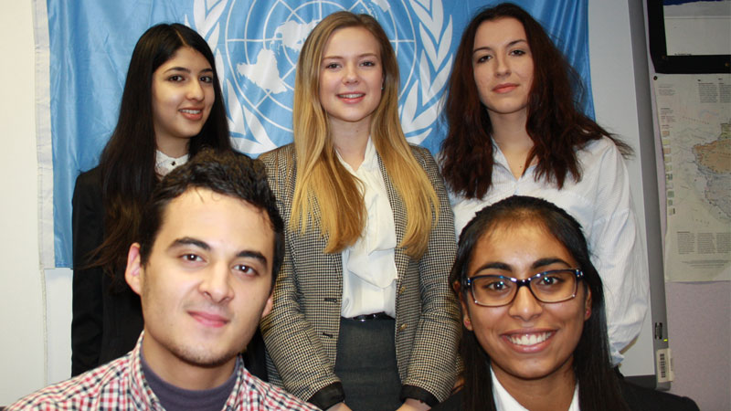 Abbey College Manchester Model UN Debate