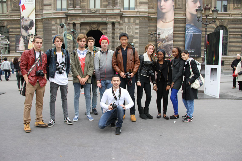 Abbey College Manchester A level Paris Art Trip
