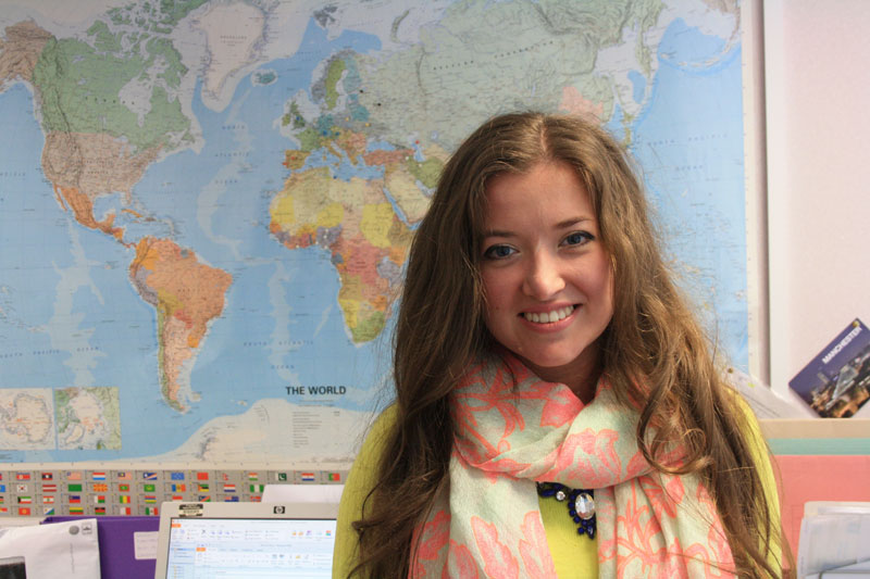 The SKy's The Limit for Former International Foundation Programme student Anna
