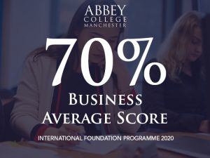 Business Foundation 2020 average score is 70%