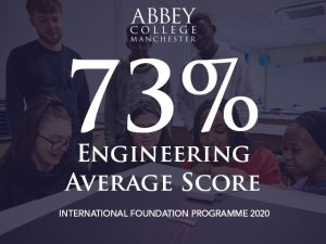 Engineering Foundation 2020 average score is 73%