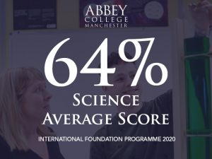 Science Foundation 2020 average score is 64%